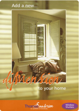 Thomas Sanderson Window Shutters